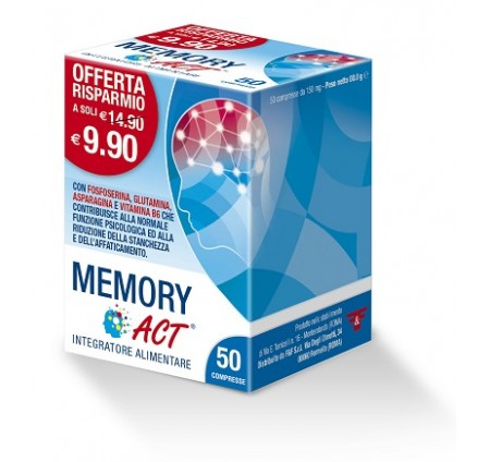 MEMORY ACT 50COMPRESSE 7,5G