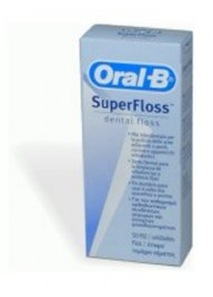 ORAL-B SUPERFLOSS FILO INTERDENTALE 50 FILI