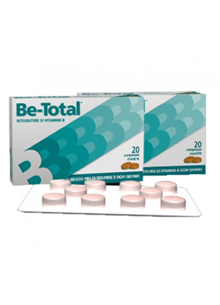 BE-TOTAL PLUS 20CPR