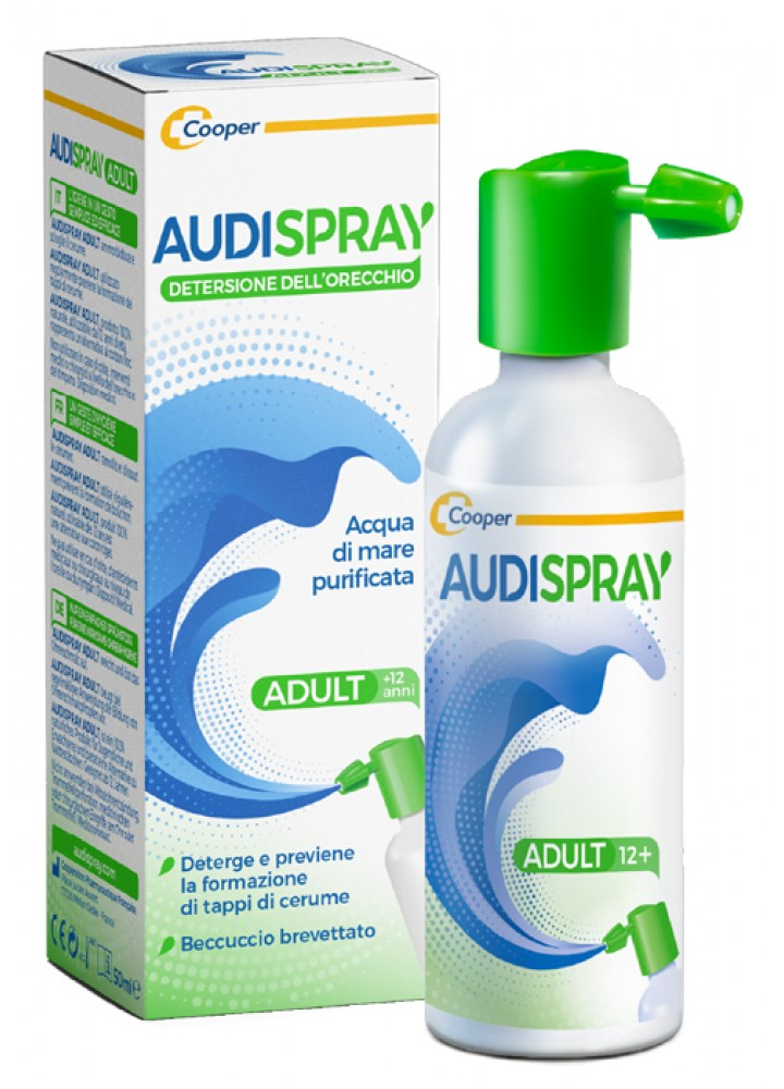 AUDISPRAY ADULT SOL IPERTONICA SPY S/GAS 50ML