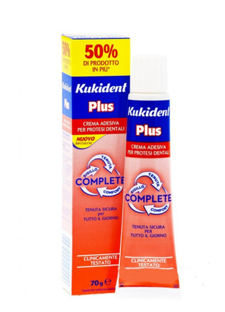 KUKIDENT PLUS IT COMPLETE 70G