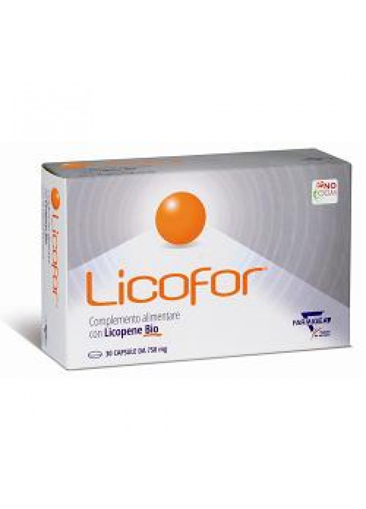 LICOFOR 30CPS GEL 750MG