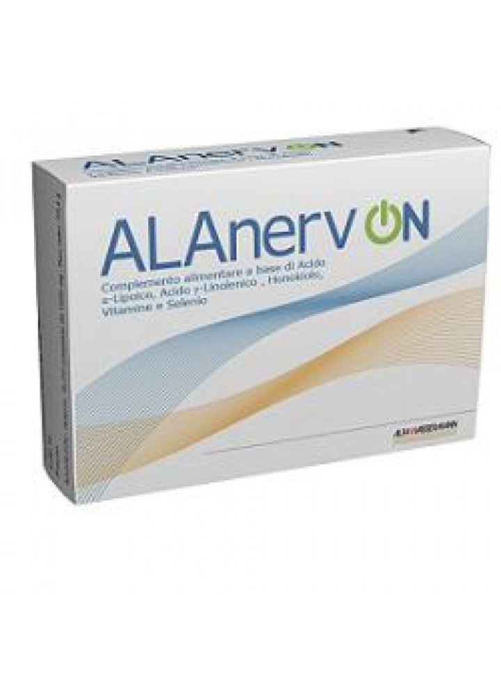 ALANERV ON COMPLEMENTO ALIM 20CPS 985MG