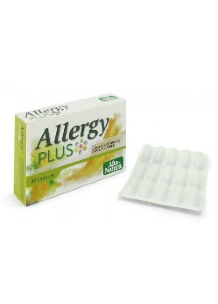 ALLERGY PLUS ALTA NATURA 500MG 30CPS