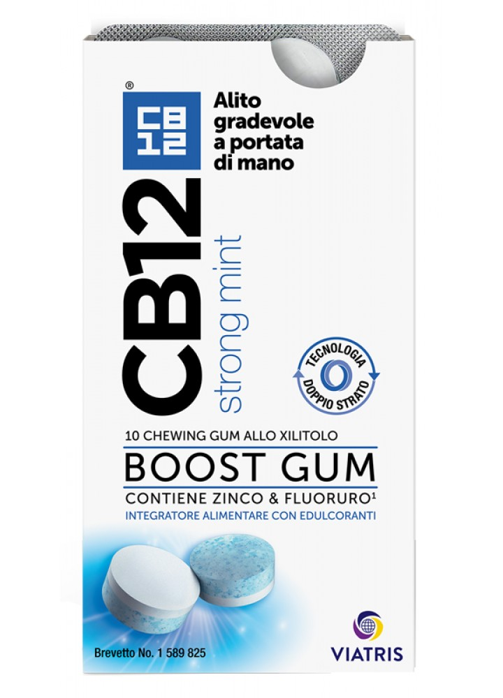 CB12 BOOST CHEWING-GUM 20G