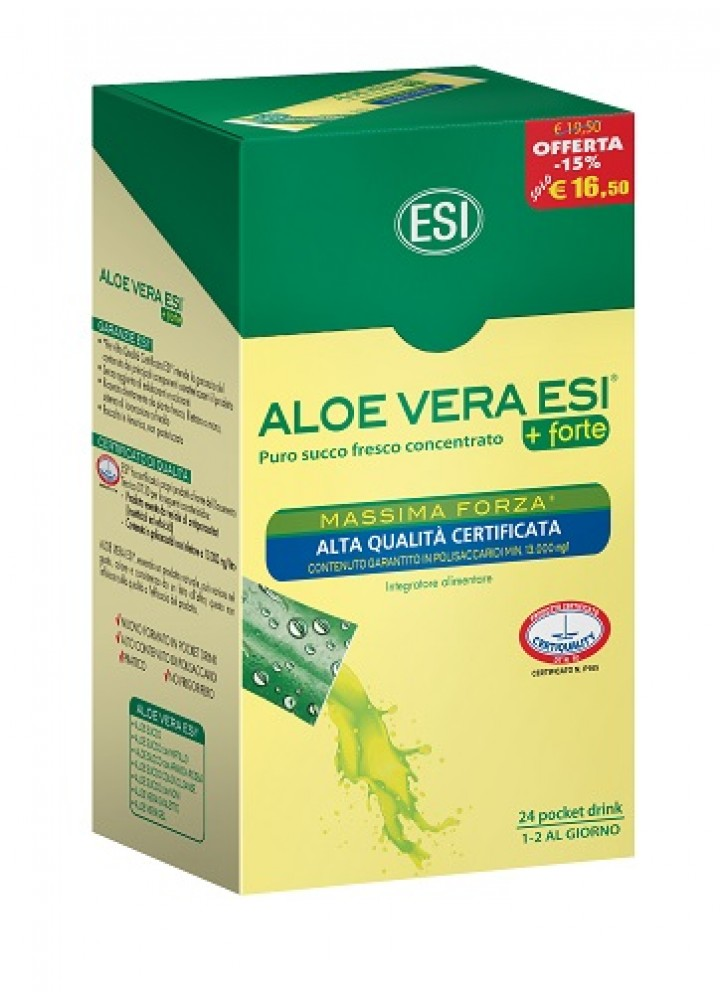 ALOE 24 POCKET DRINK MASSIMA FORZA 480ML