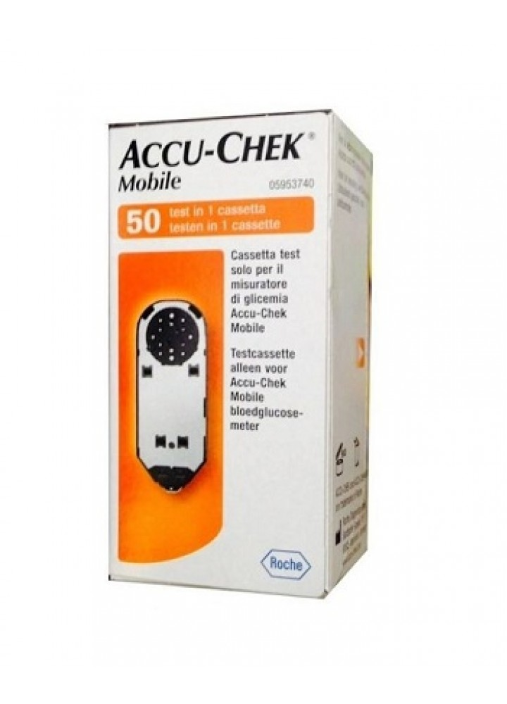 ACCU-CHEK MOBILE 50 TEST MIC2 RETAIL