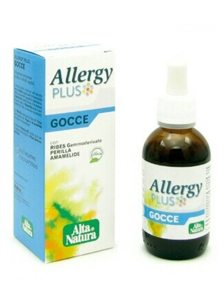 ALLERGY PLUS ALTA NATURA GTT 50ML