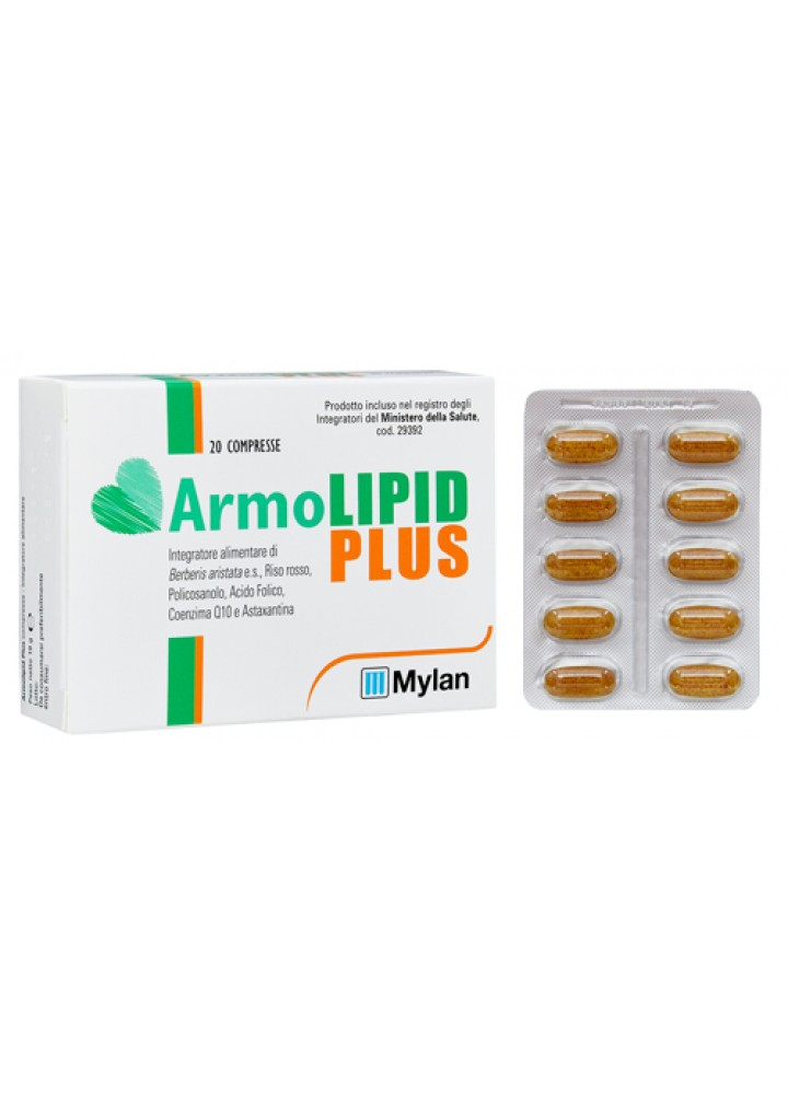 ARMOLIPID PLUS 20COMPRESSE