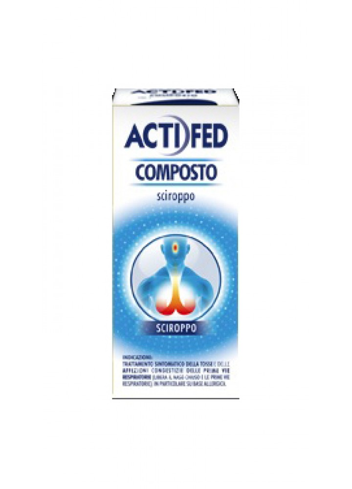 ACTIFED COMPOSTO 100ML SCR 1FL
