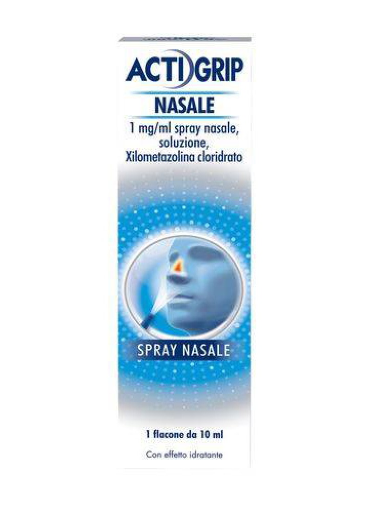 ACTIFED DECONGESTIONANTE 1MG/ML SPRAY NASALE SOLUZ 10ML