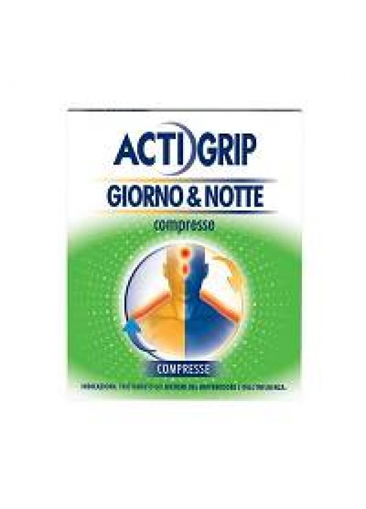 ACTIGRIP GIORNO&NOTTE 12CPR G+4CPR