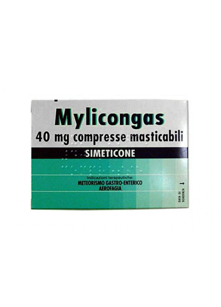 MYLICONGAS 40MG 50CPR MASTICABILI