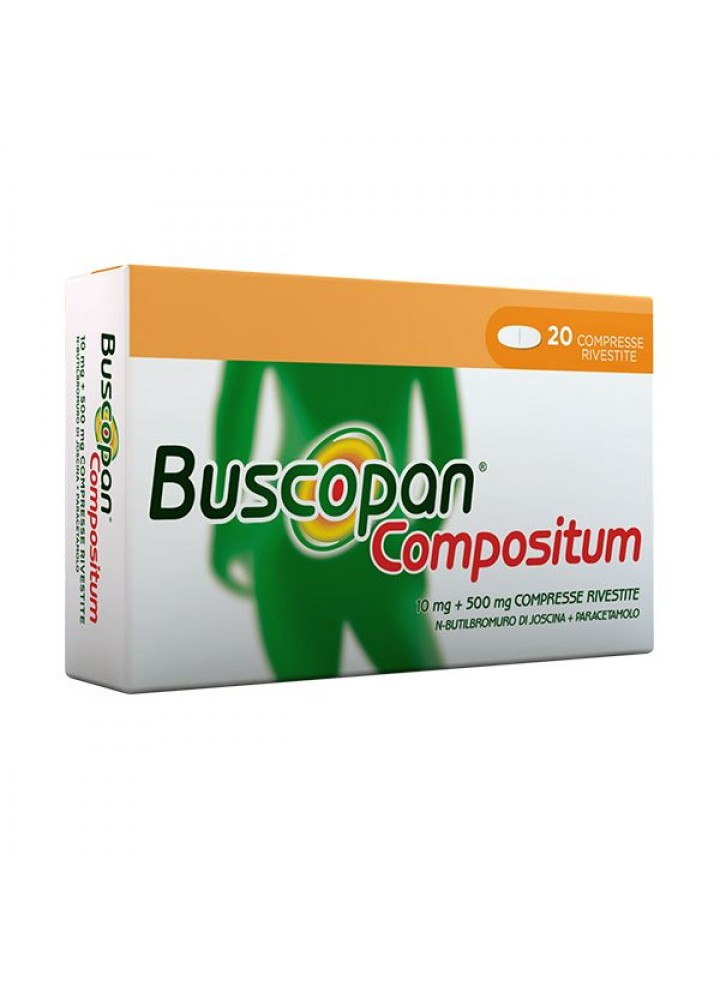 BUSCOPAN COMPOSITUM 10MG+500MG 20CPR RIV