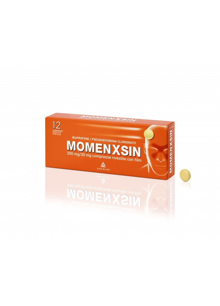 MOMENXSIN 200/30MG 12CPR FILM RIV